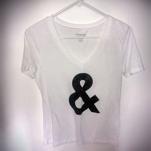 🖤 Black and White Vintage Small Top